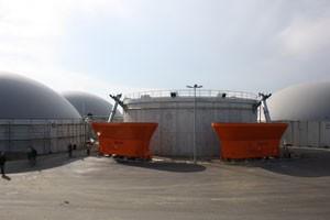 residuos biogas